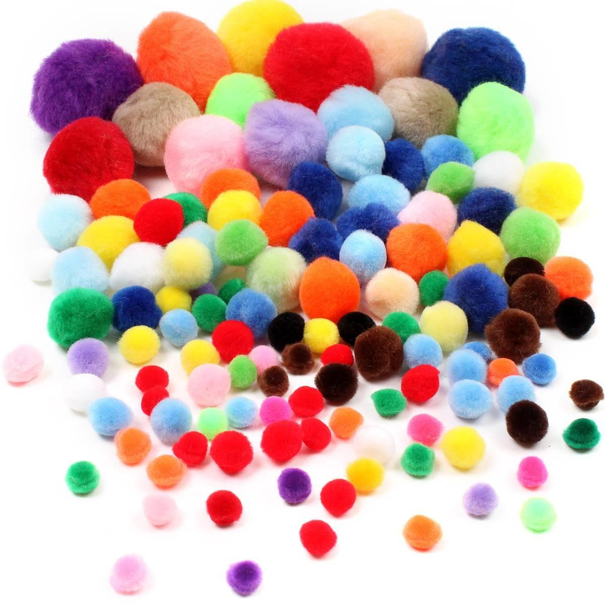 Assorted Pom Value Pack Hobbycraft