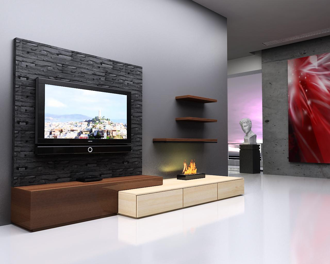 Astounding Designs Lcd Wall Unit Additional