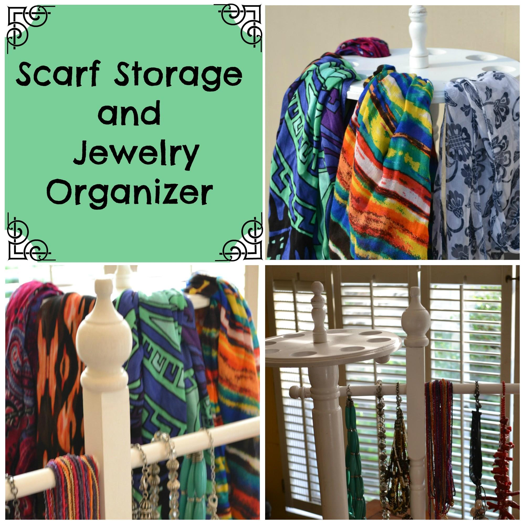 Astounding Scarf Storage Best Idea Home Design