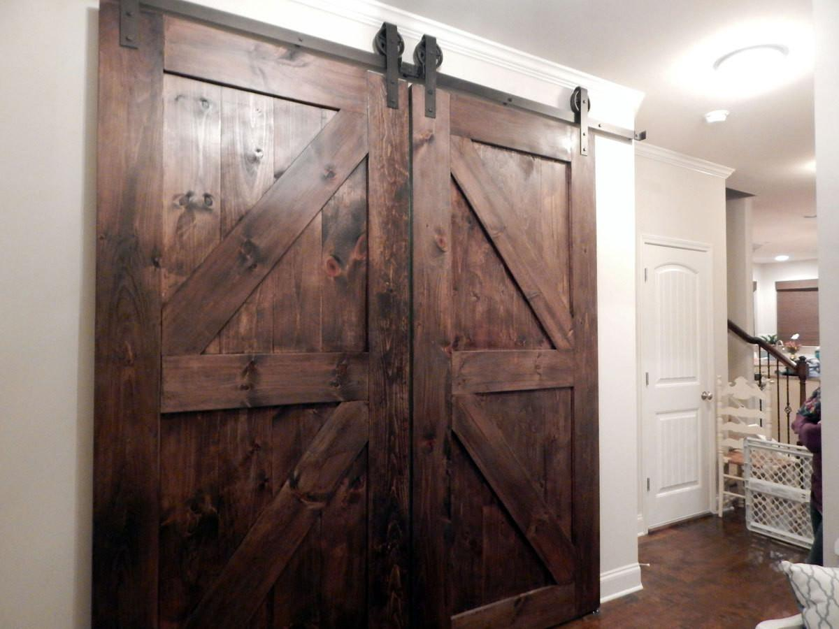 Atlanta Interior Sliding Barn Doors Double Style
