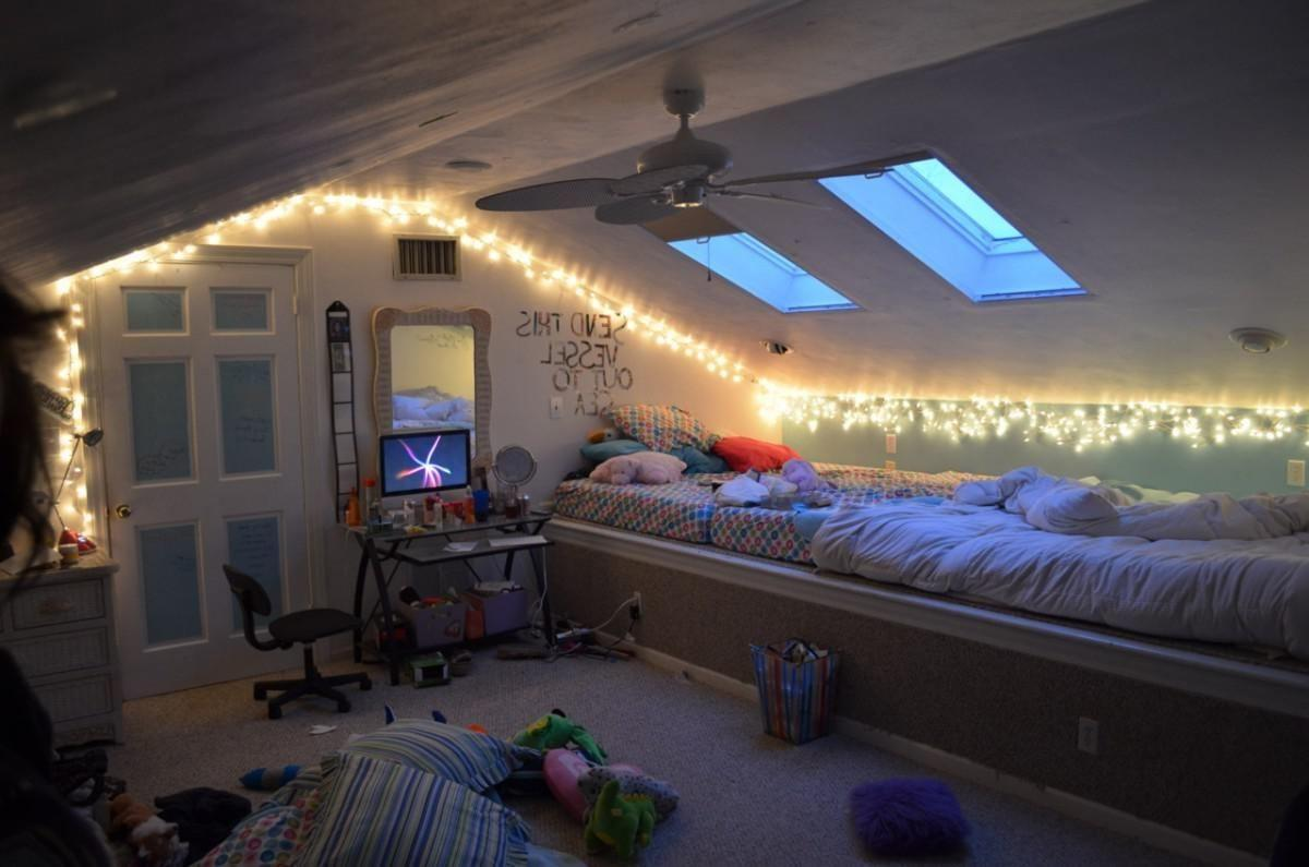 Attic Bedroom Ideas Teenage Girls Black Gloss Three
