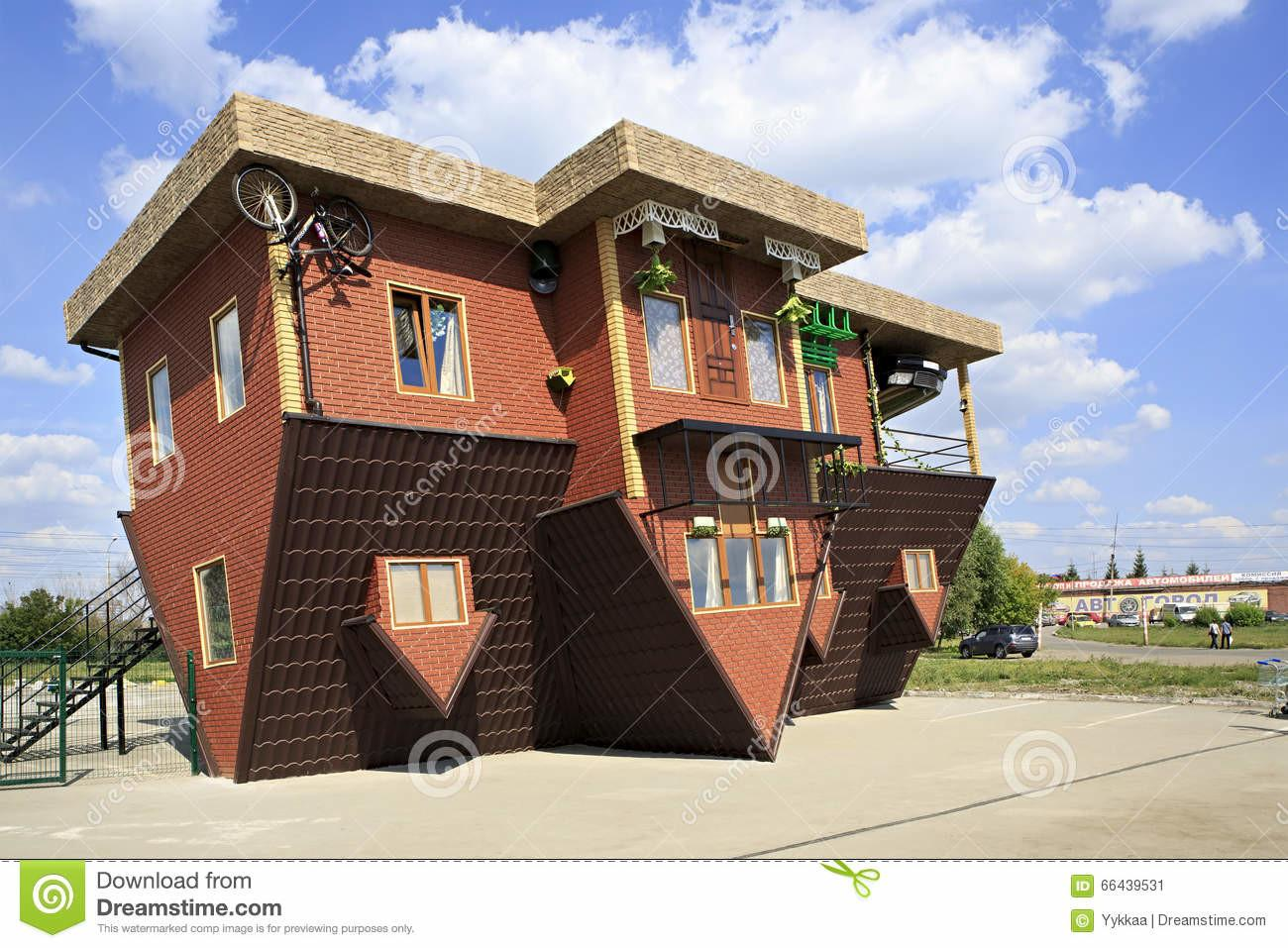Attraction Upside Down House Editorial