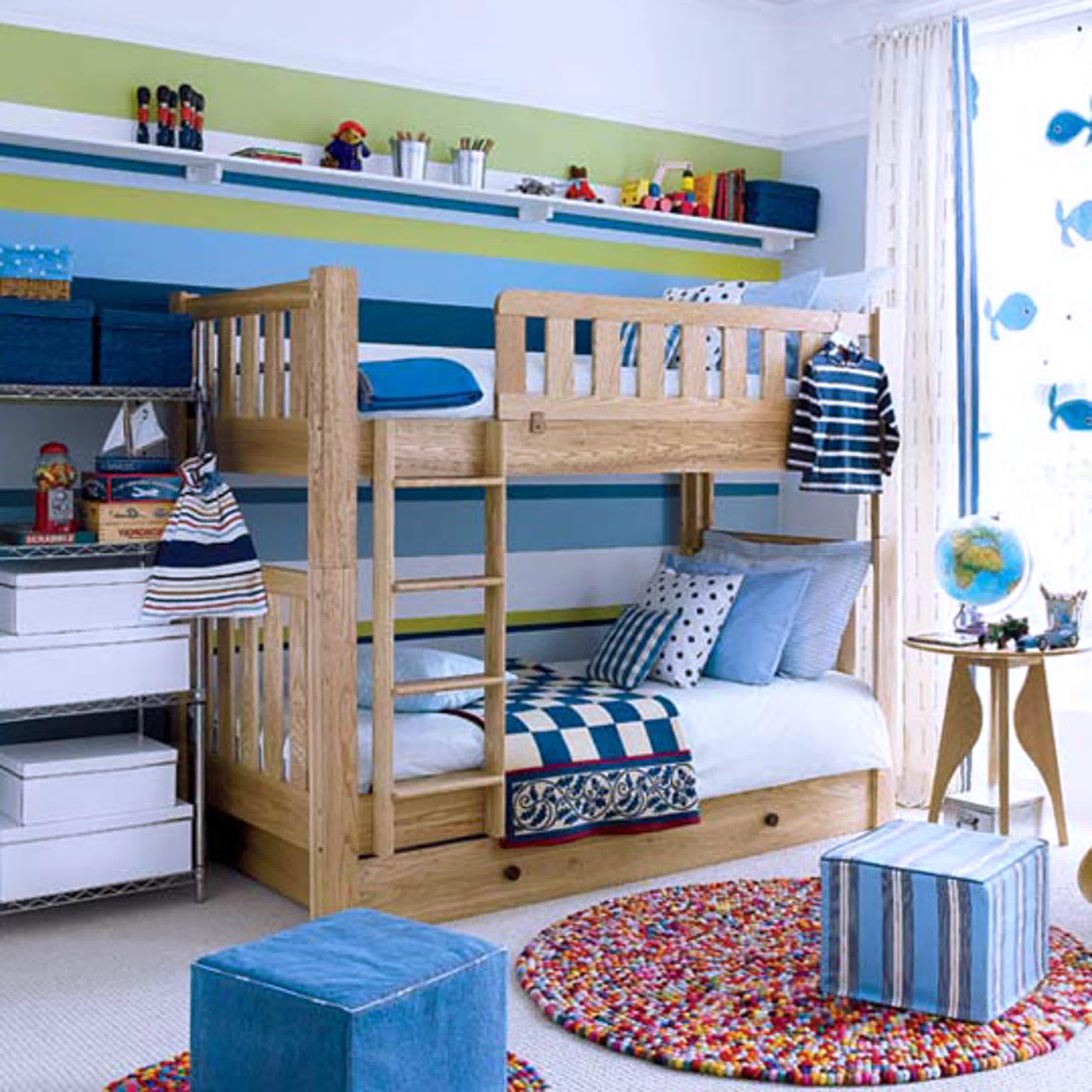 Attractive Decorating Boys Kid Room Design Ideas