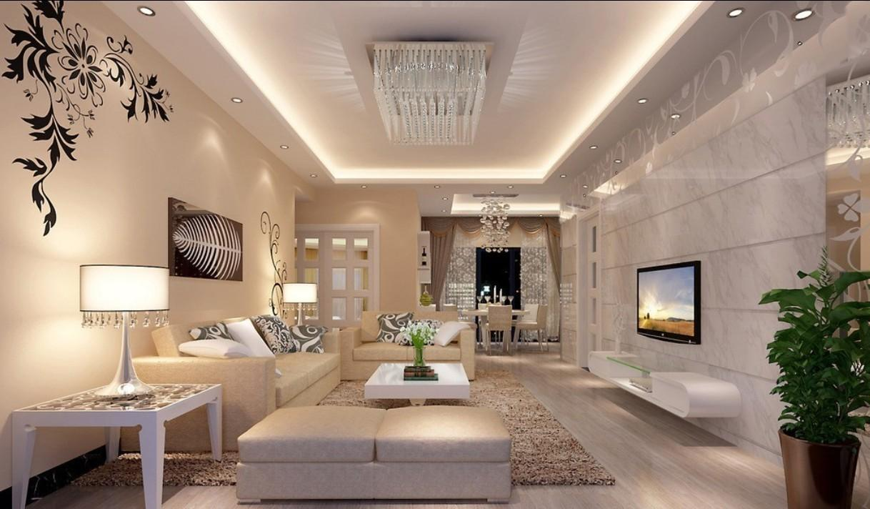 Attractive Most Beautiful Living Rooms Crystal