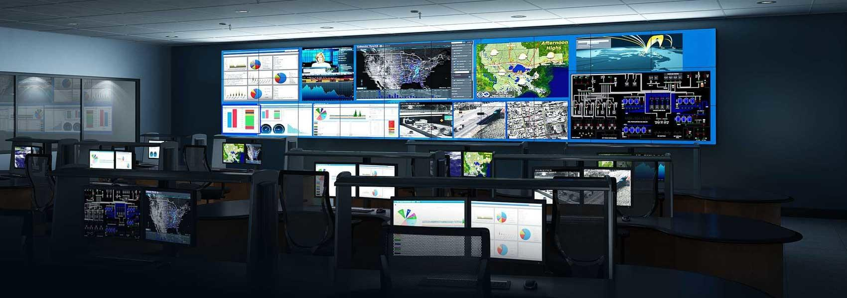 Audio Video Wall Solutions Control Rooms