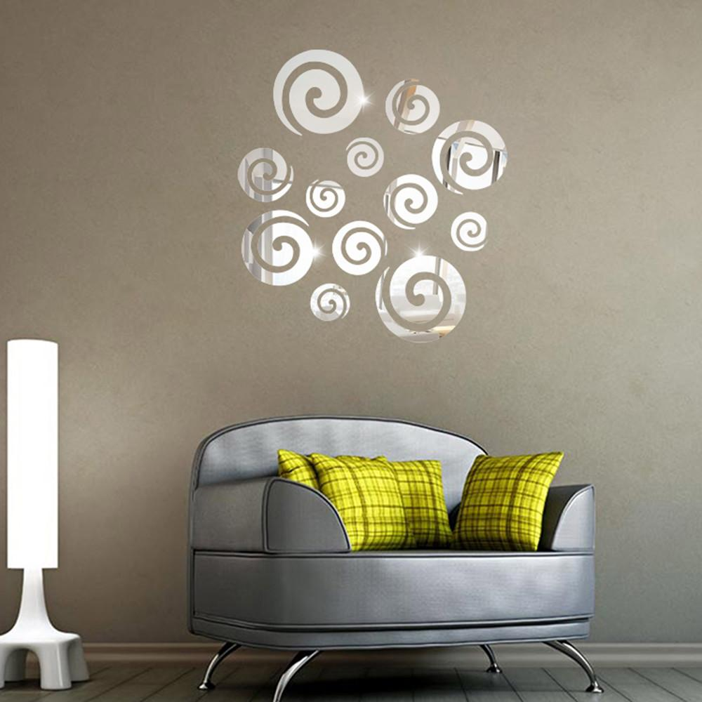 Auspicious Clouds Acrylic Mirror Diy Wall Stickers