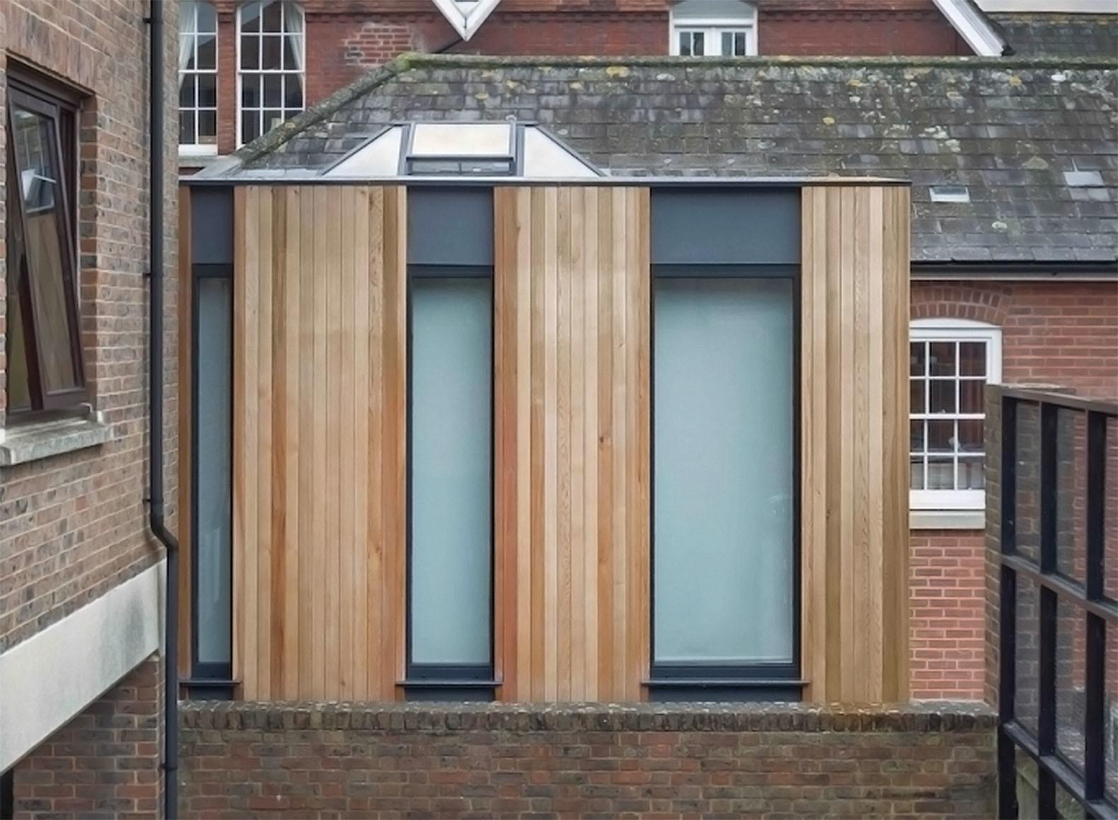 Austen House Tiny Timber Clad Home Suspended