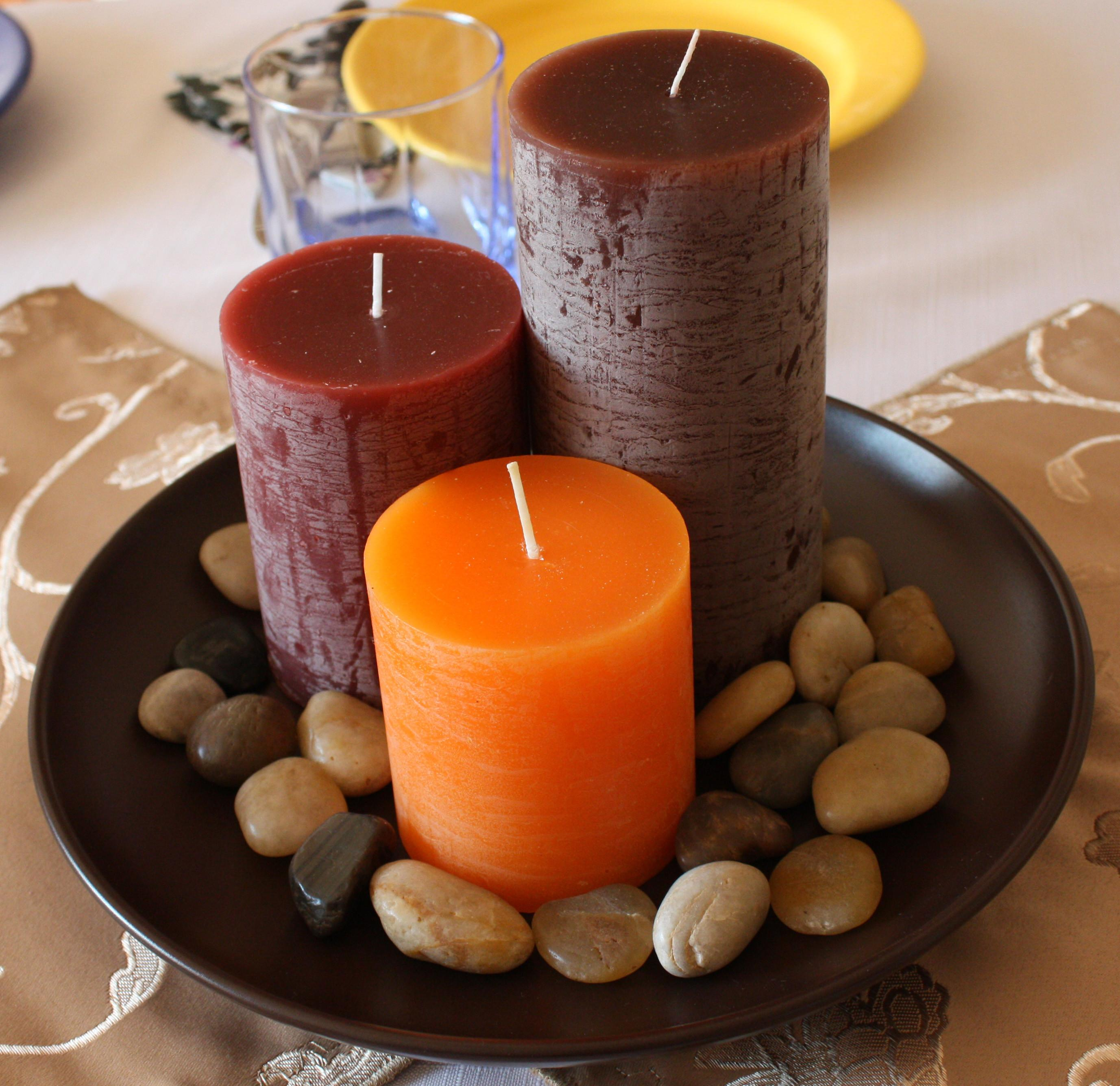Autumn Candles New Interior Design Idea 2010