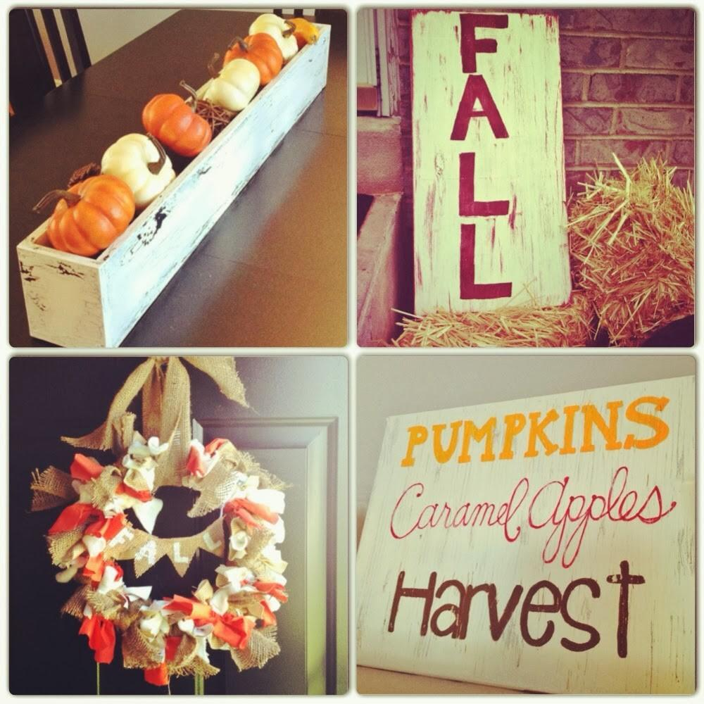 Autumn Diy Decor Mommy Makes Things