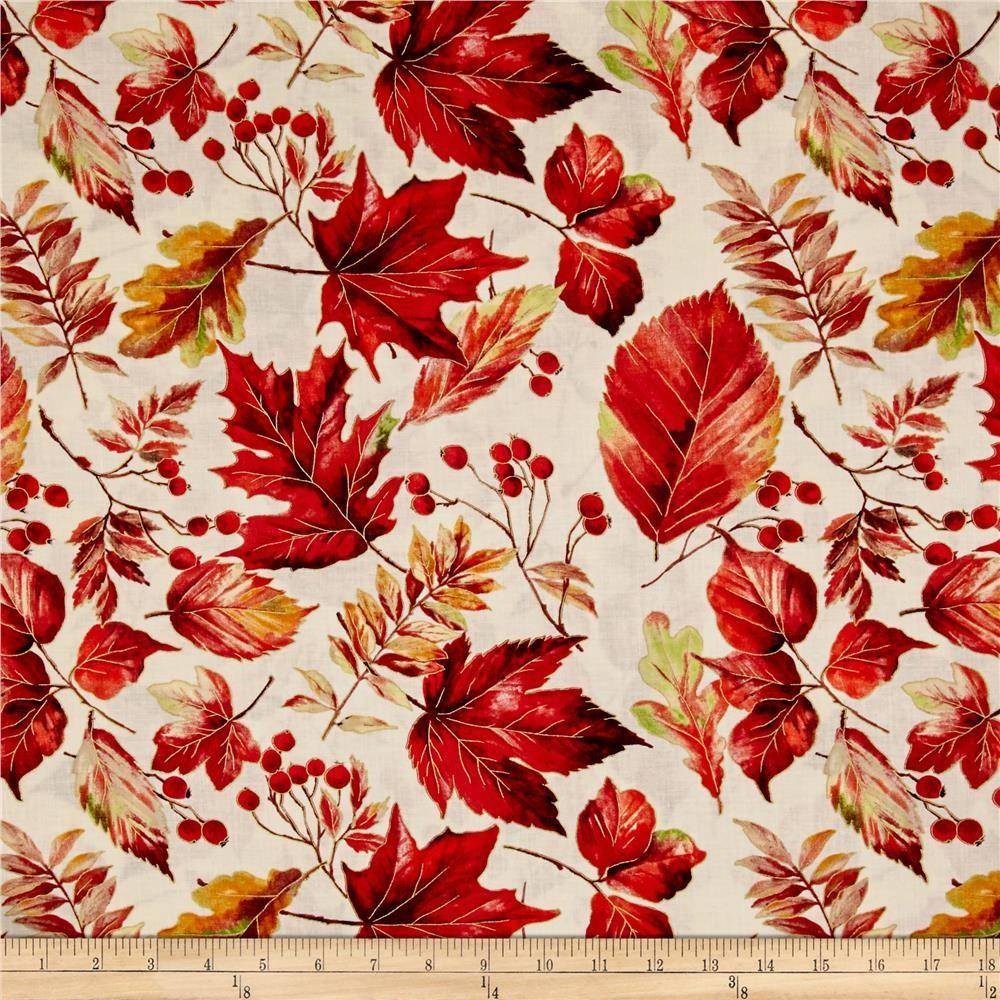 Autumn Forest Falling Leaves Ruby Discount