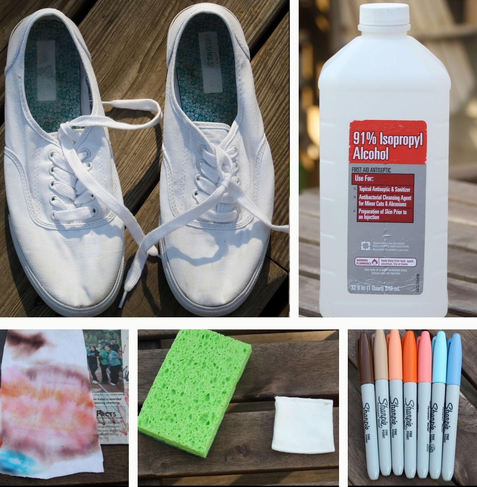 Ave Renee Diy Ombre Canvas Shoes Sharpies