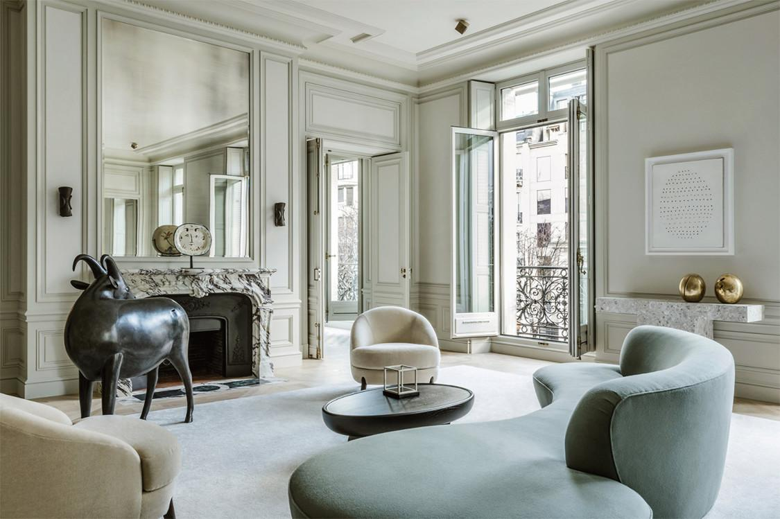 Avenue Montaigne Apartment Joseph Dirand Cool