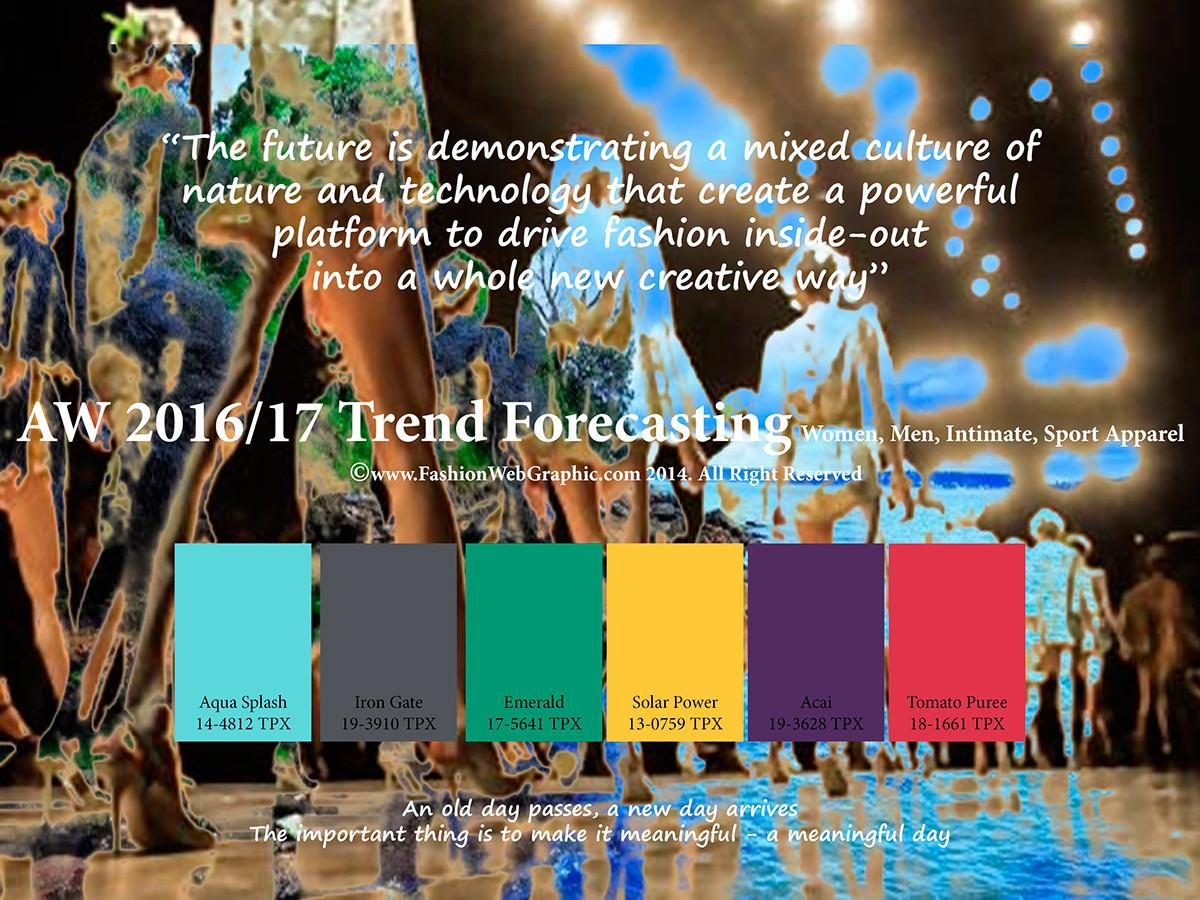 Aw2016 2017 Trend Forecasting Behance