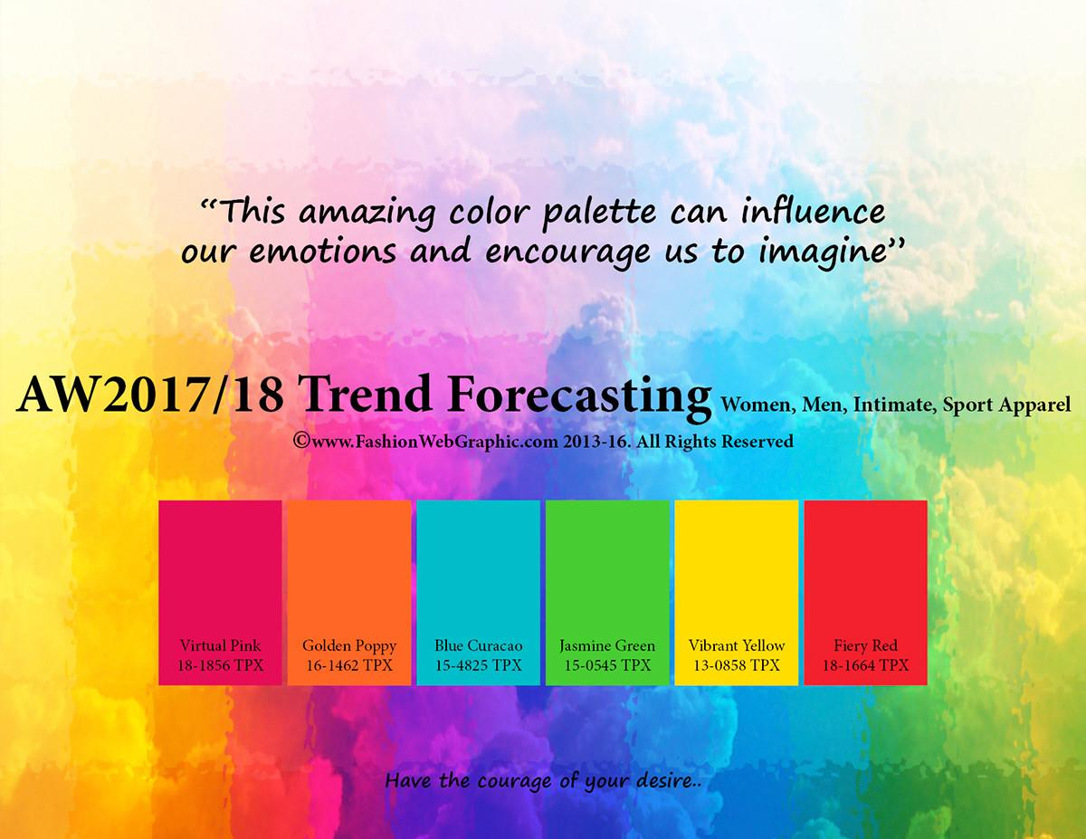 Aw2017 2018 Trend Forecasting Behance