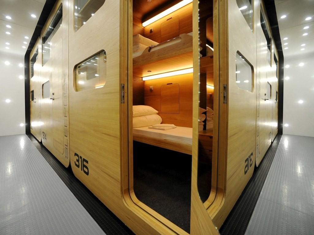 Awesome Airport Nap Pods Around World Photos