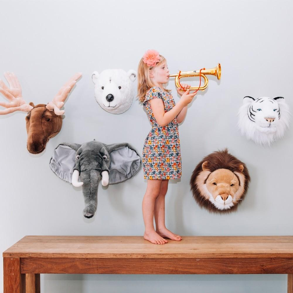 Awesome Animal Head Wall Decor Decorating Design