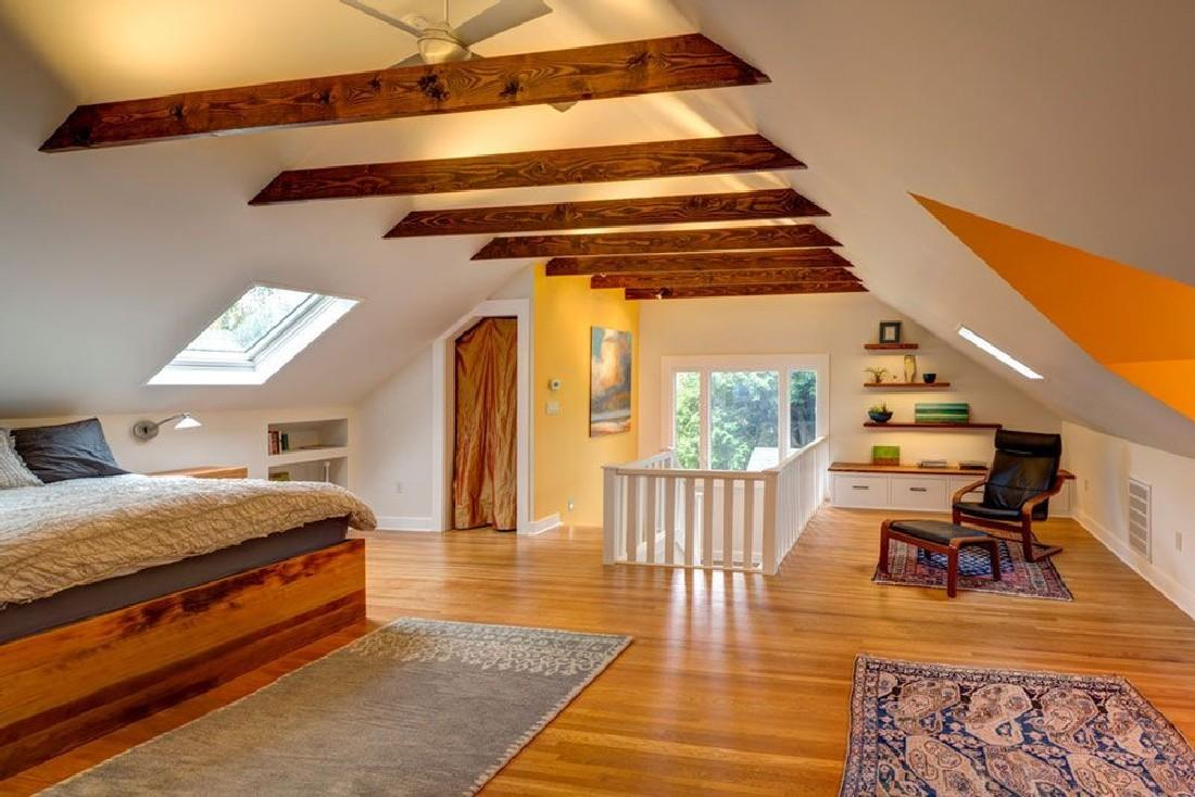 Awesome Attic Bedroom Design Ideas Indoor
