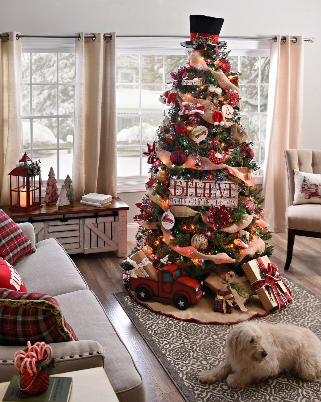 Awesome Christmas Tree Decorating Ideas Inspiration