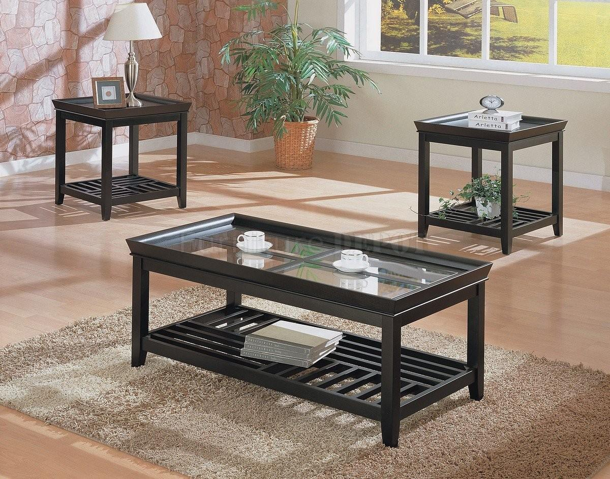 Awesome Contemporary Coffee Table Set Home Decor Color