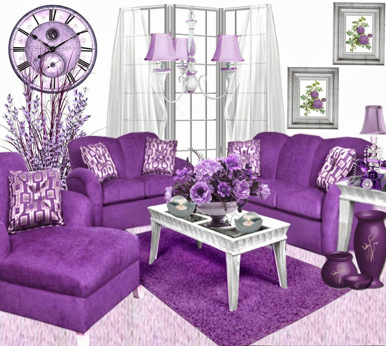 Awesome Decorate Purple Dining Room Light