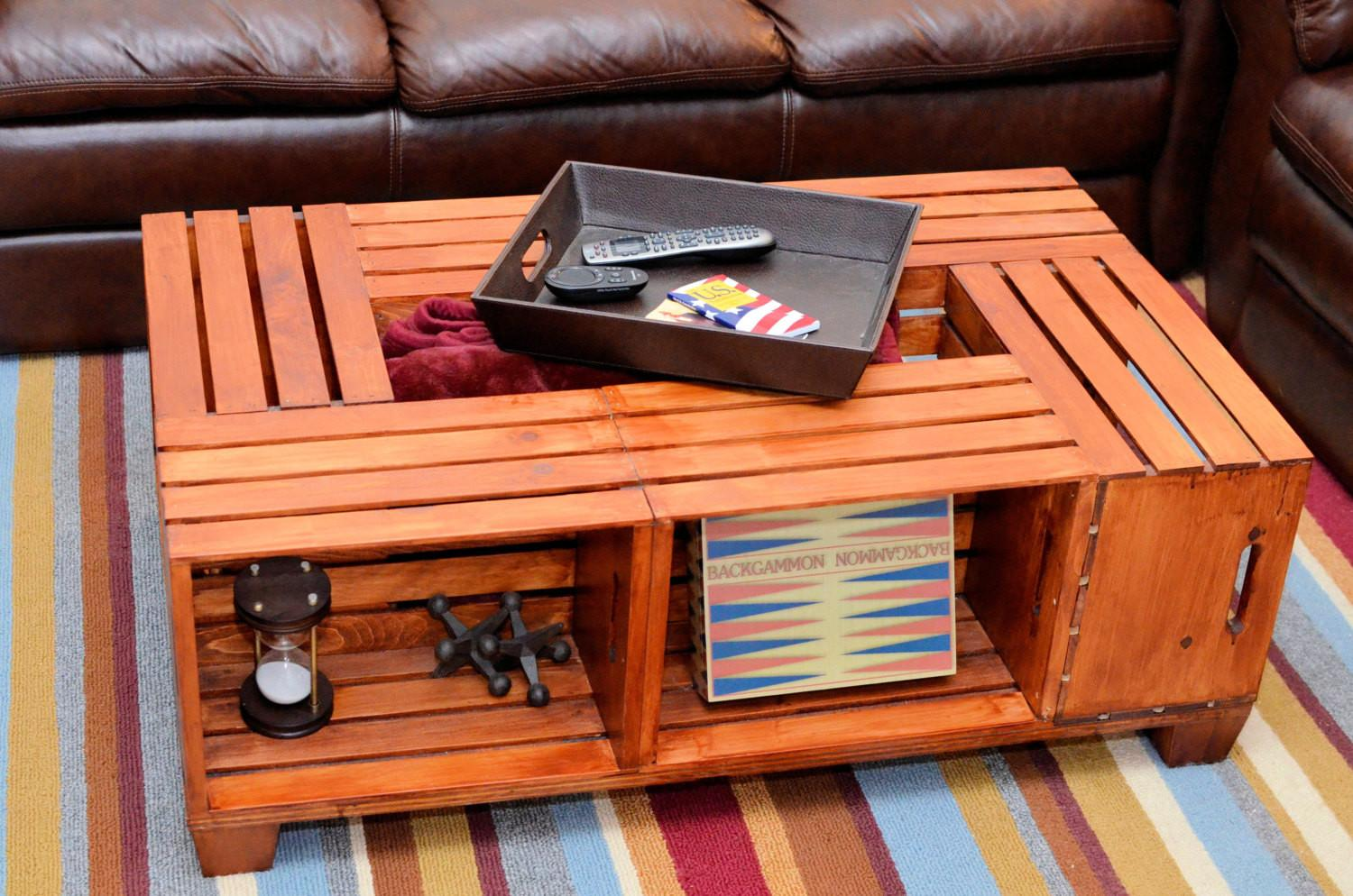 Awesome Desaign Diy Wood Crate Simple