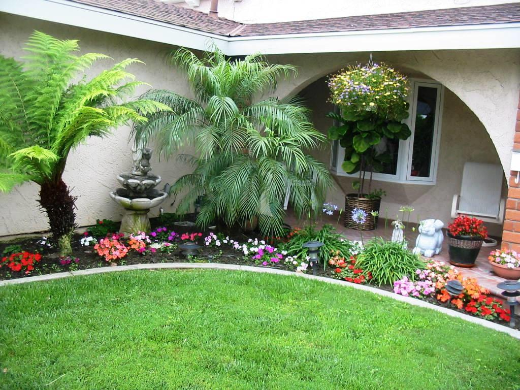 Awesome Design Low Maintenance Front Lawn Garden Exterior
