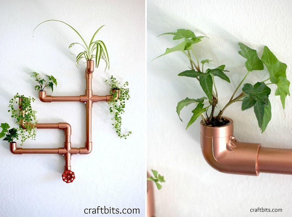 Awesome Diy Copper Pipe Decor Sparkly Home