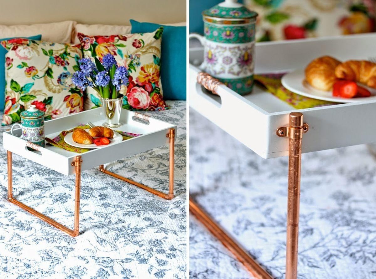 Awesome Diy Copper Pipe Decor Sparkly Home Improvement