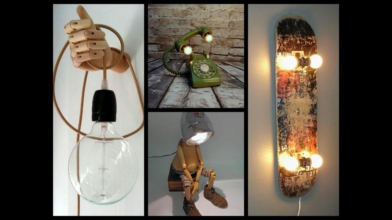 Awesome Diy Lamp Ideas Recycled Crafts