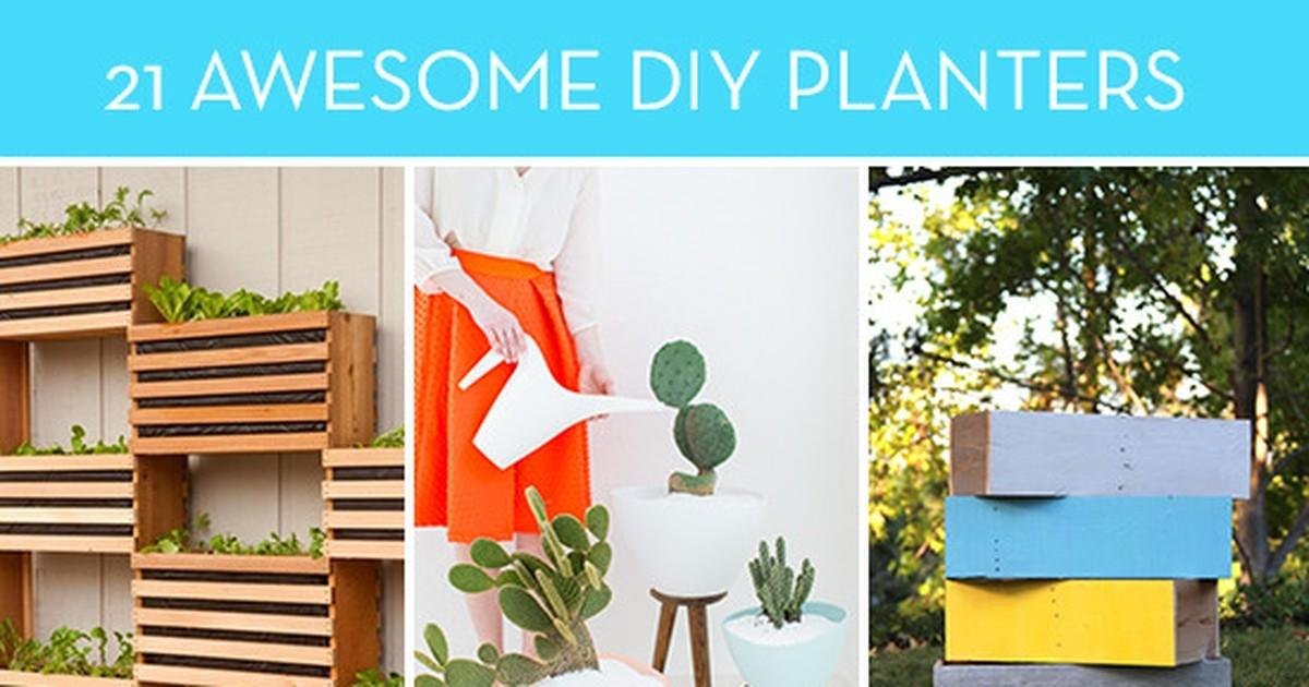 Awesome Diy Planters Kick Summer Months