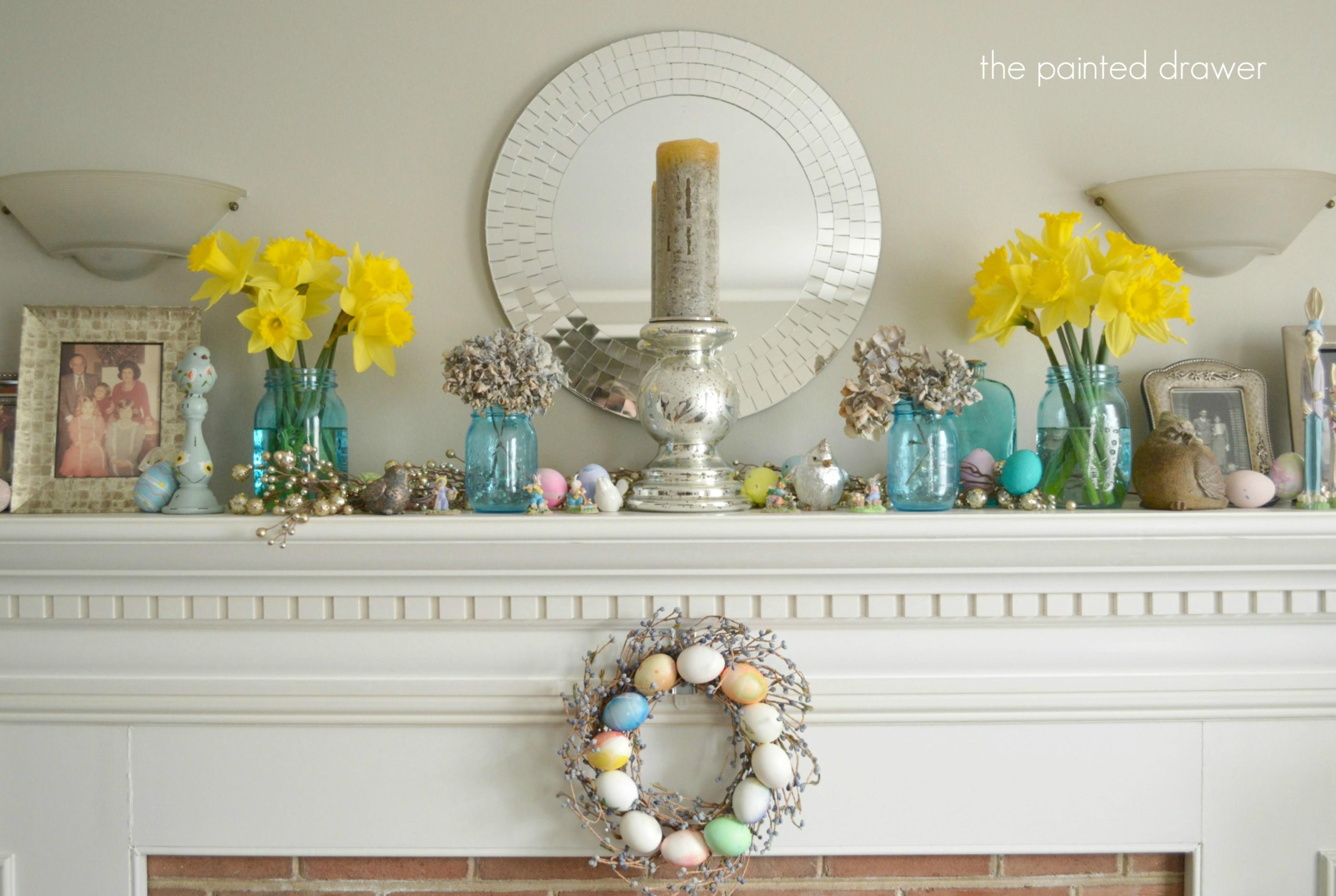 Awesome Easter Mantel Decorating Ideas Your Simple