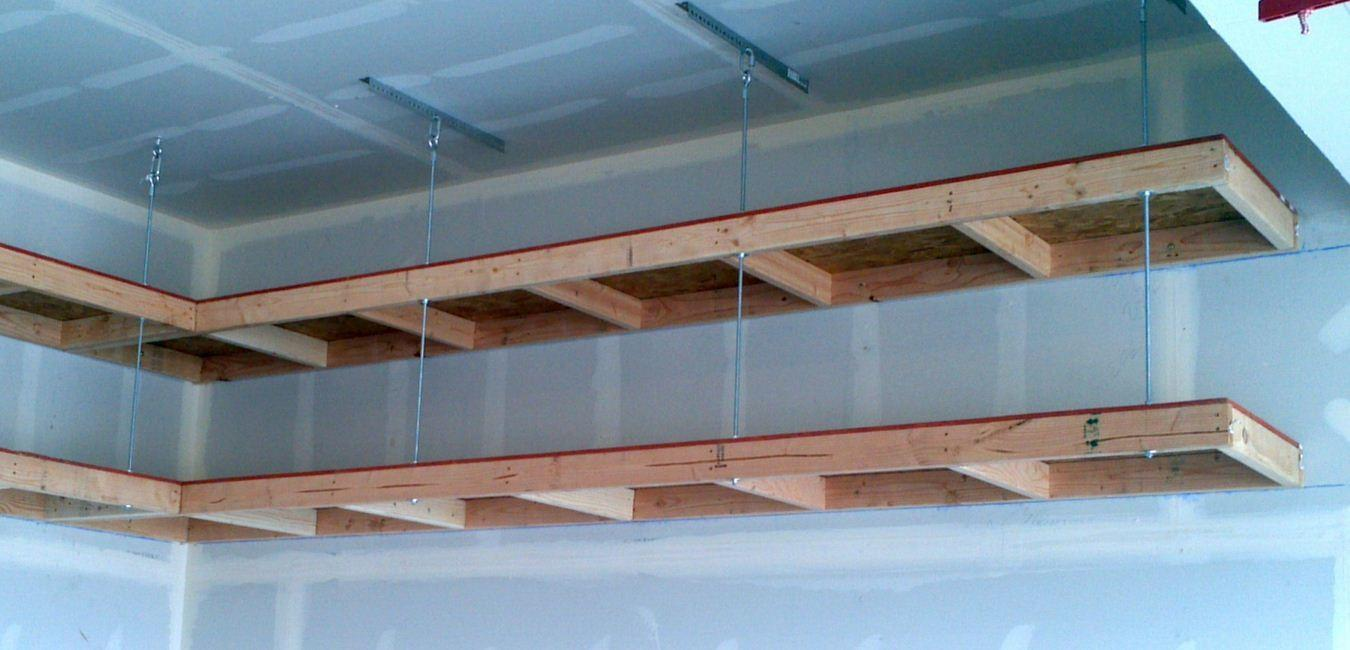 Awesome Garage Ceiling Storage Ideas Simple Design