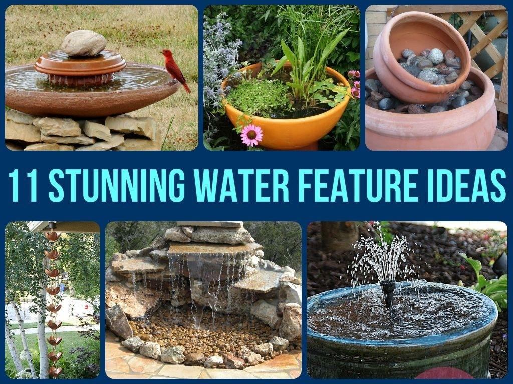 Awesome Garden Fountain Ideas Sunset Considerable Water