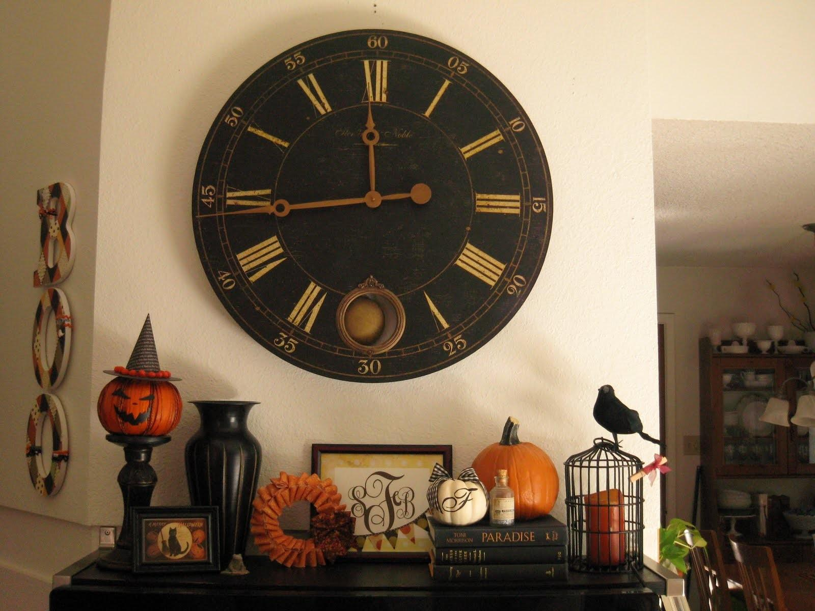 Awesome Halloween Decorating Ideas Fireplace Wood