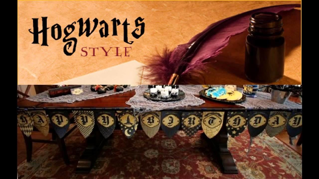 Awesome Harry Potter Birthday Party Decorations Ideas