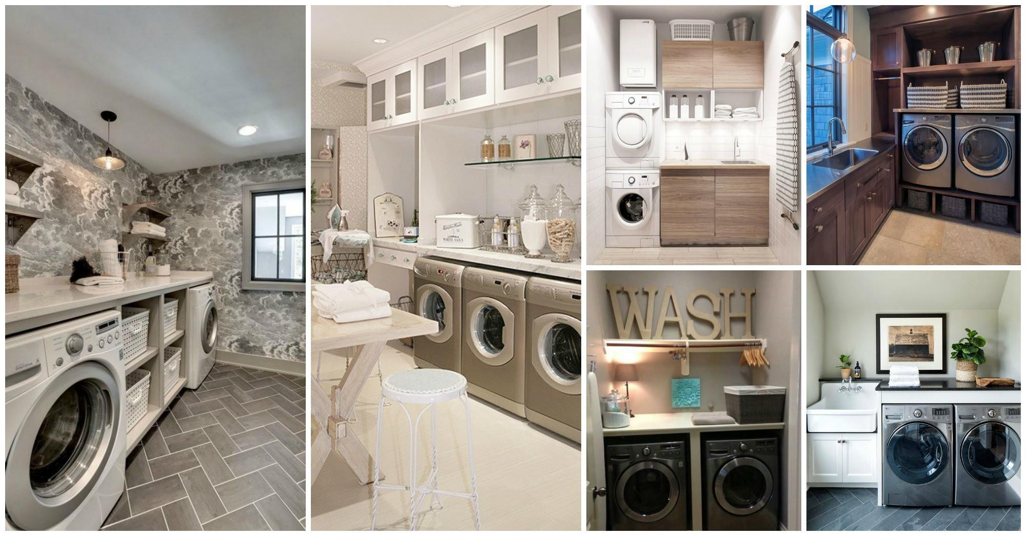 Awesome Laundry Rooms Attract Your Attention