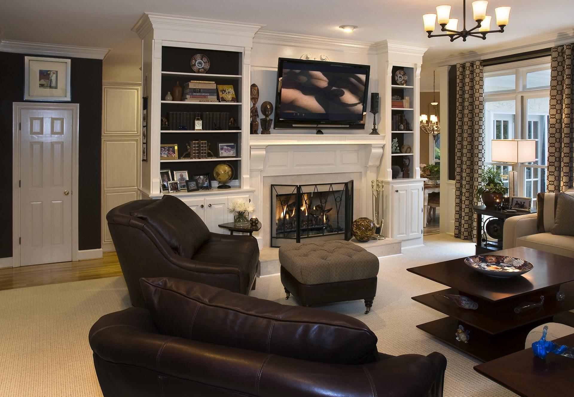 Awesome Masculine Living Room Designs Color