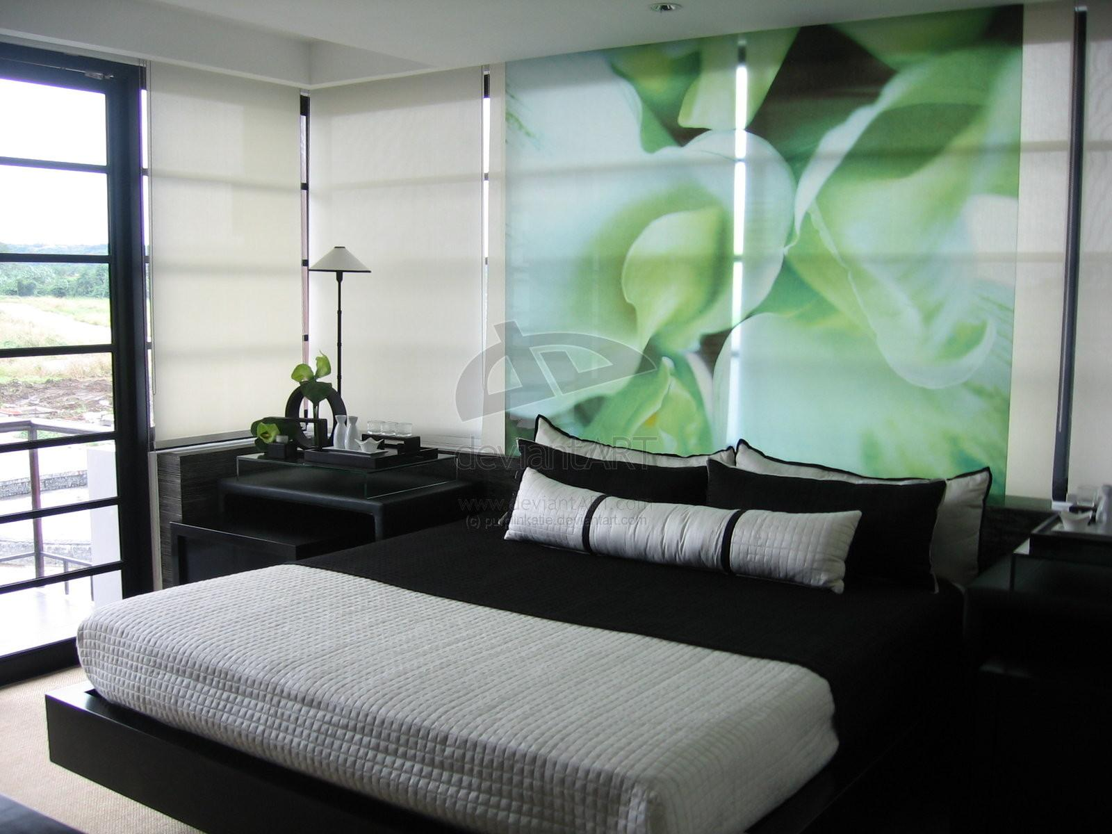Awesome Midcentury Master Bedroom Decorating Green