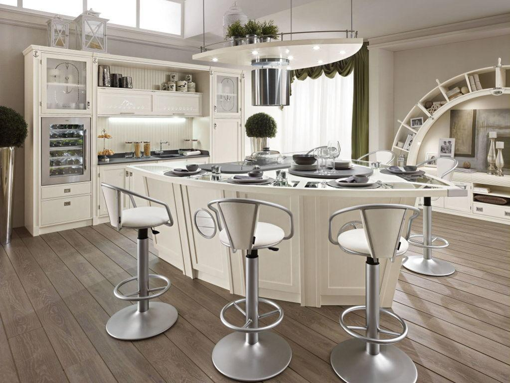 Awesome Modern French Country Kitchen Design Metal