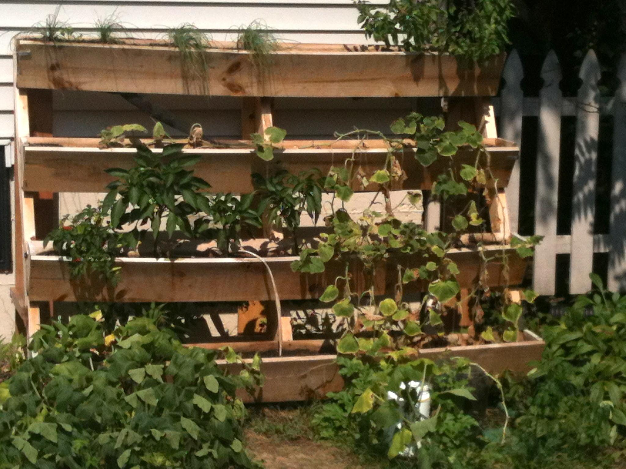 Awesome Pallet Vertical Gardens Pallets Designs