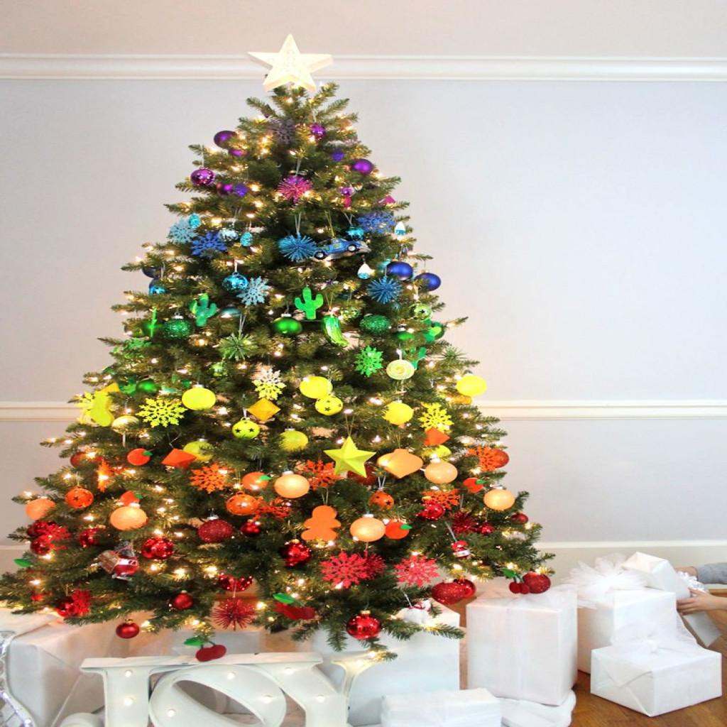 Awesome Pics Decorated Christmas Trees Regarding