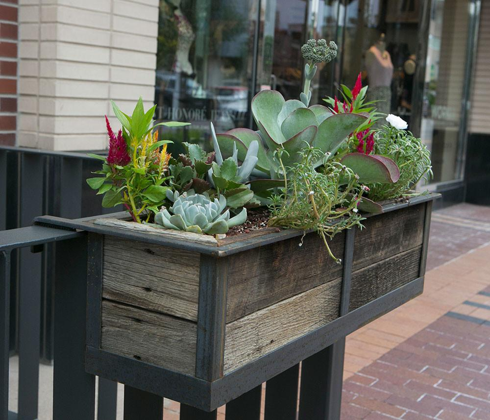 Awesome Porch Rail Planters Deck Beautiful Your