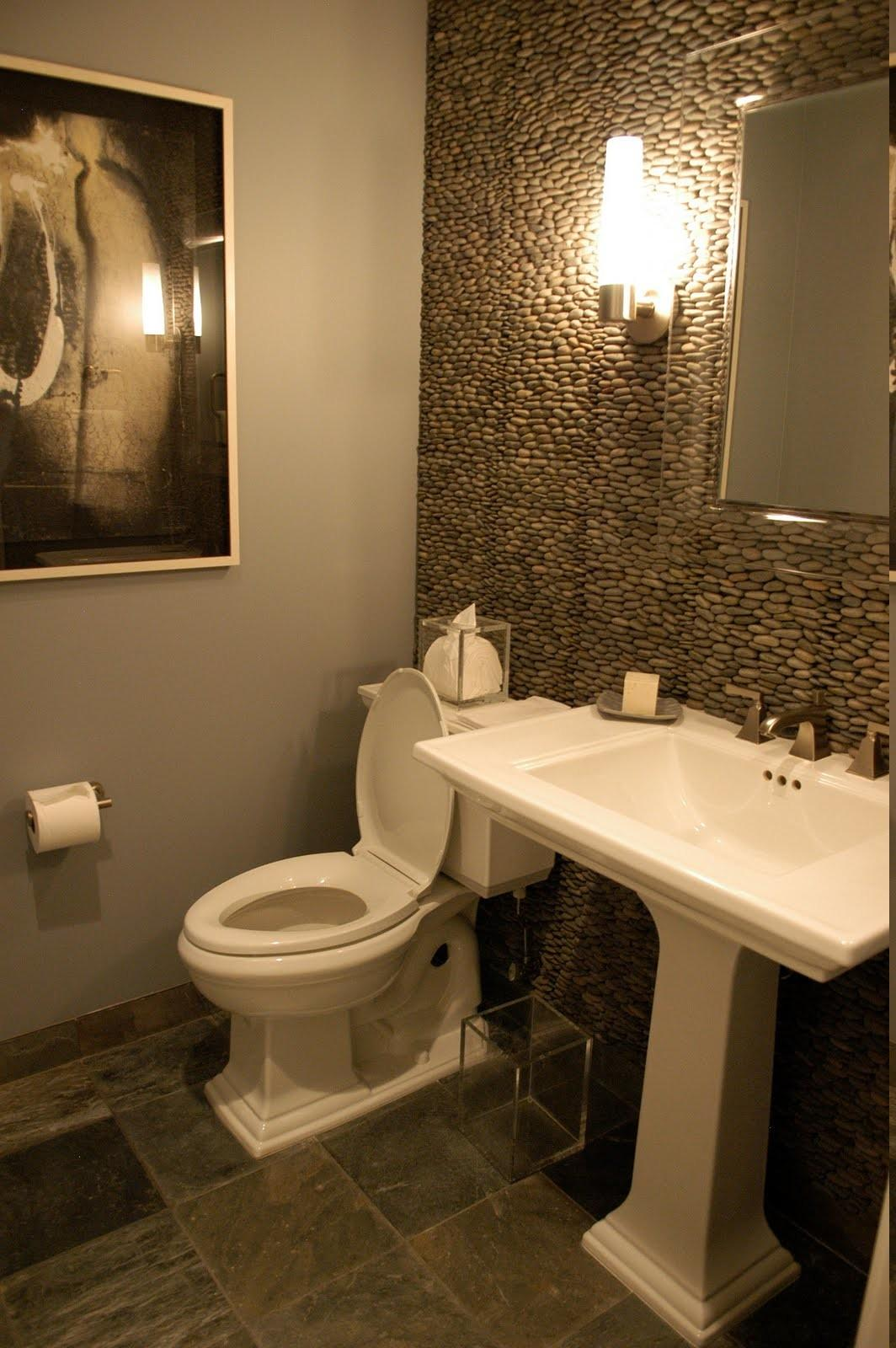 Awesome Powder Room Decorating Ideas Also Captivating