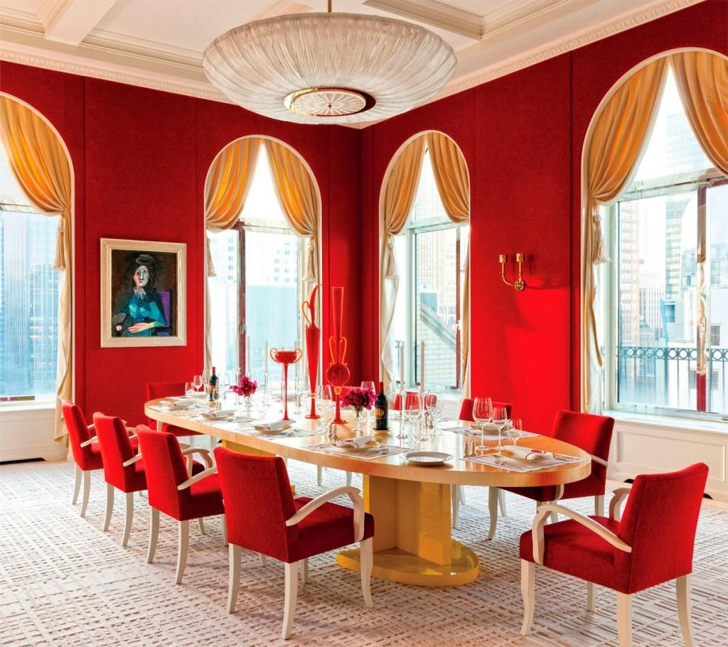 Awesome Red Dining Rooms J21 Cheap House Design Ideas