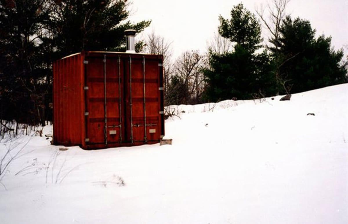 Awesome Sauna Made Out Shipping Container Complex