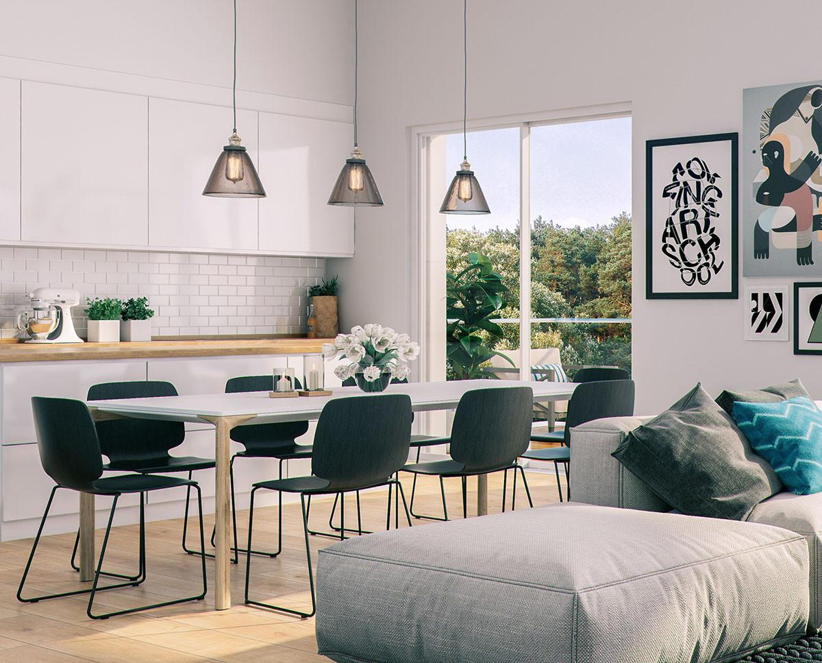 Awesome Scandinavian Dining Room Design Ideas Roohome