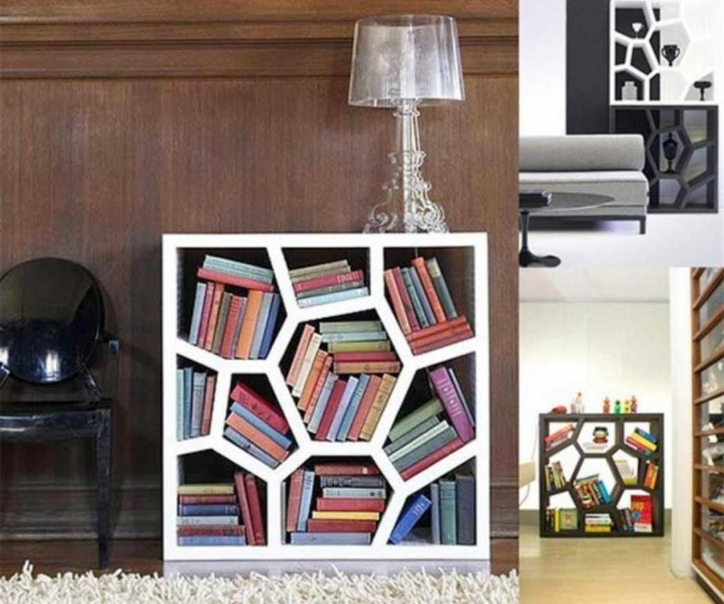 Awesome Small Bookshelf Design Ideas Perfect