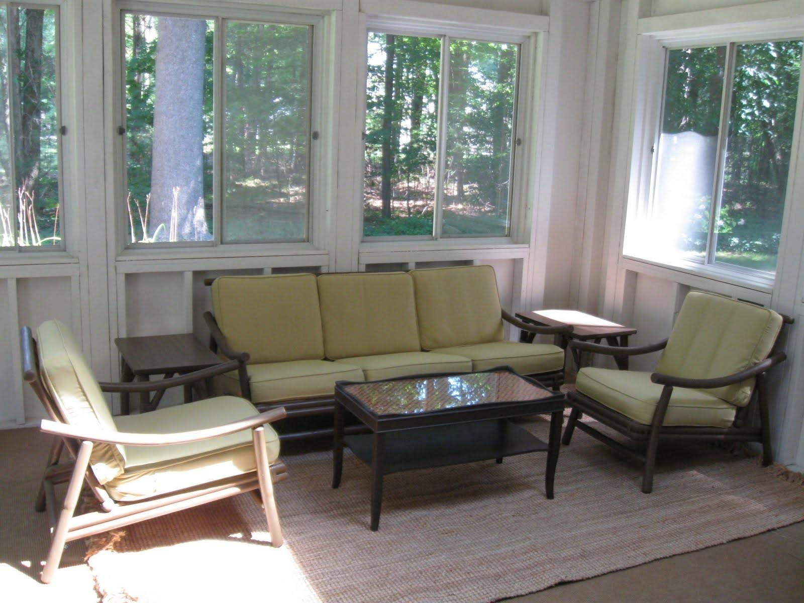 Awesome Sun Porch Furniture Ideas Remodel