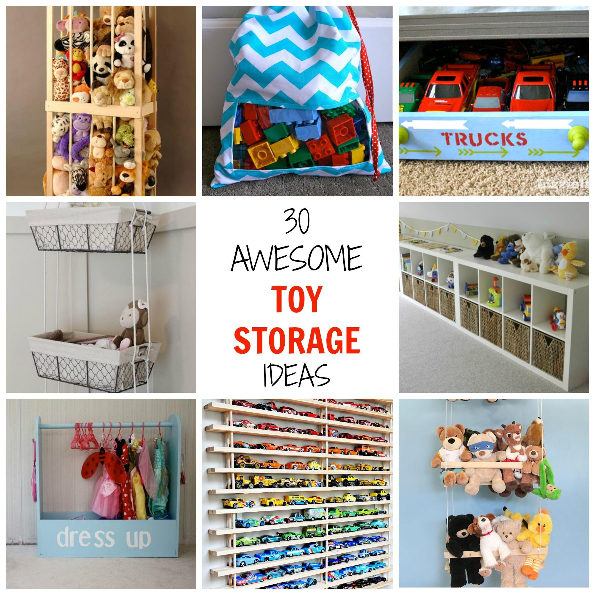 Awesome Toy Storage Ideas Simplify Create Inspire Clipgoo