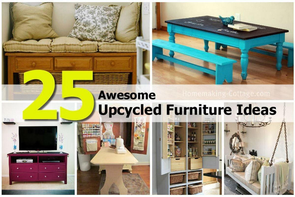 Awesome Upcycled Furniture Ideas